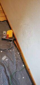 Drywall Repair In Progress